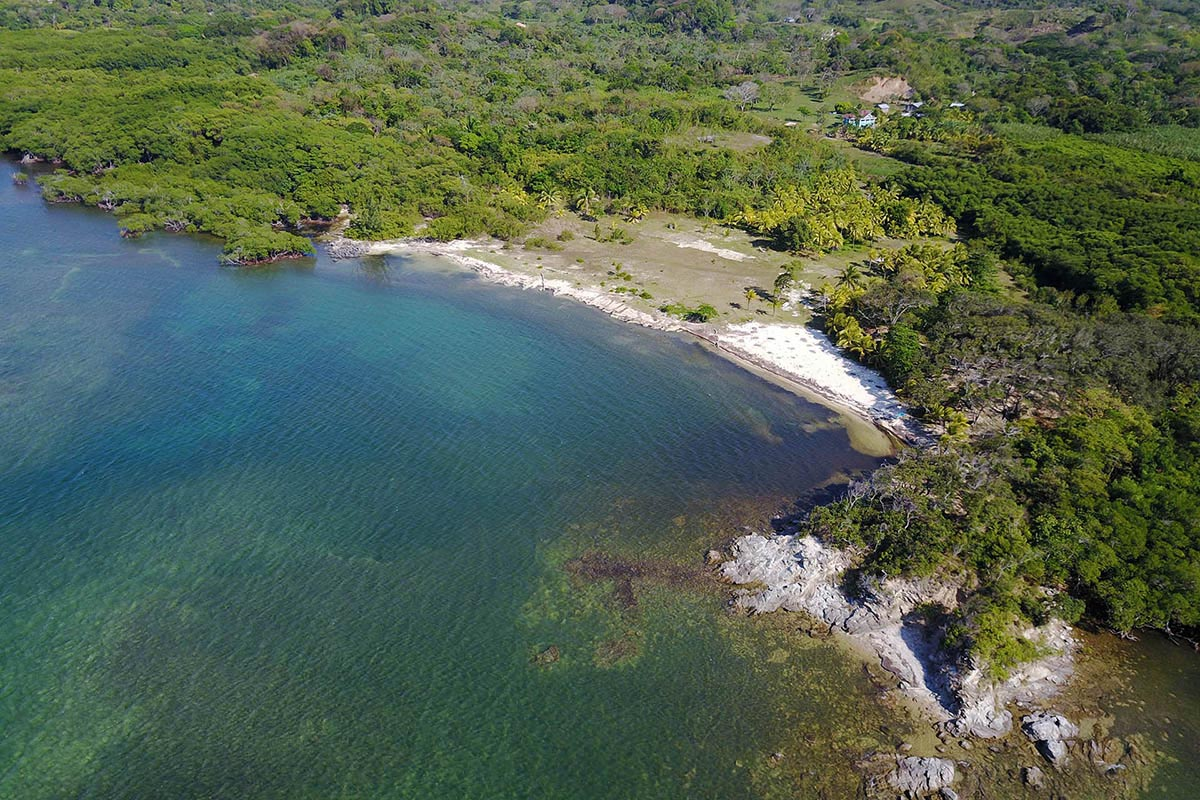 Soukromá pláž v Karibiku