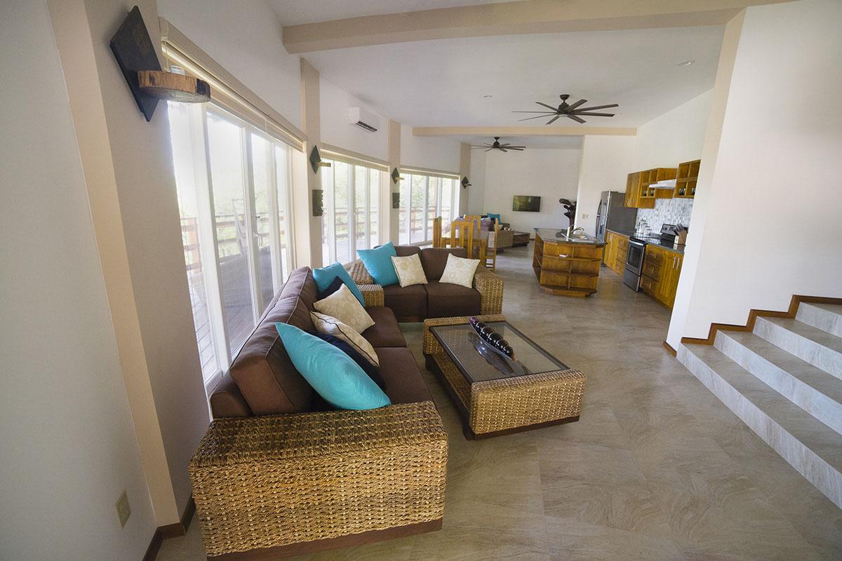 Designové interiéry domů v Karibiku