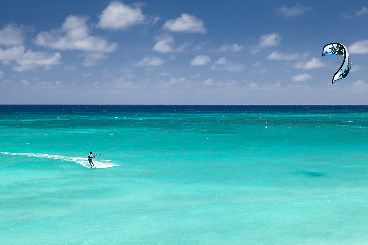 Kitesurfing Roatán, Karibik