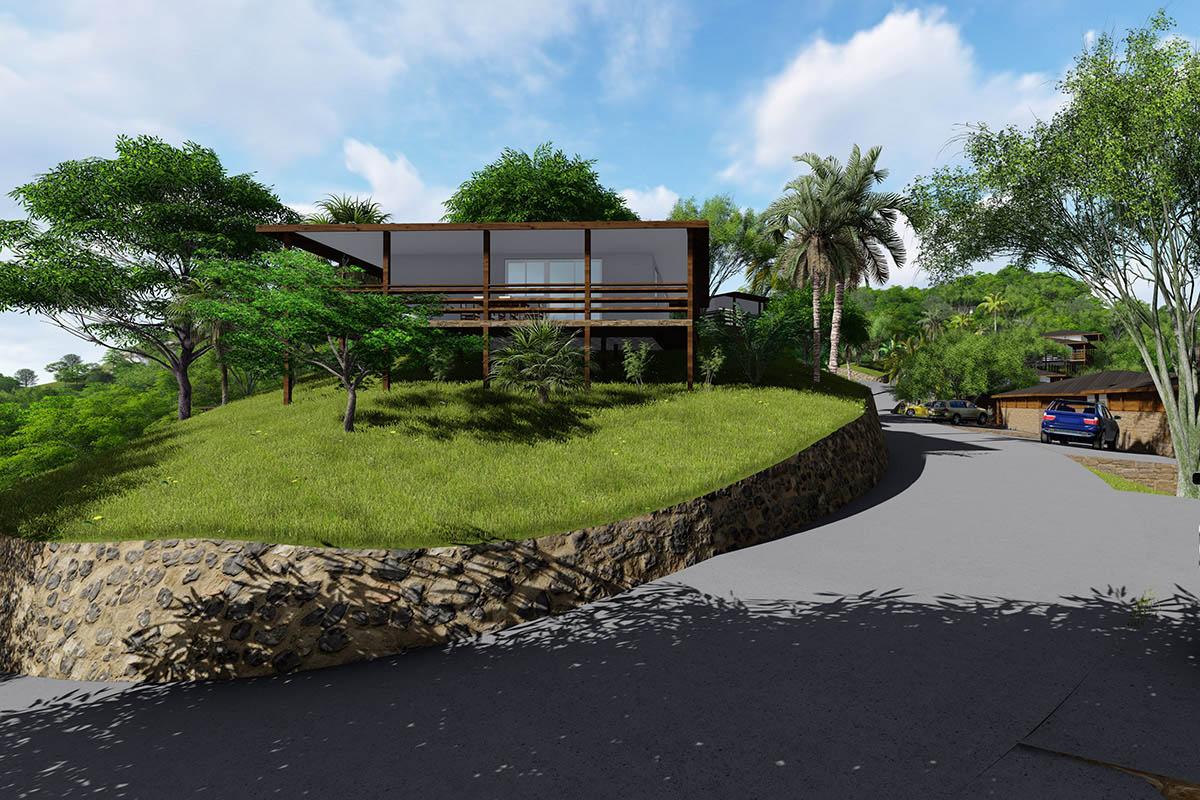 Vizualizace nemovitostí v Karibiku