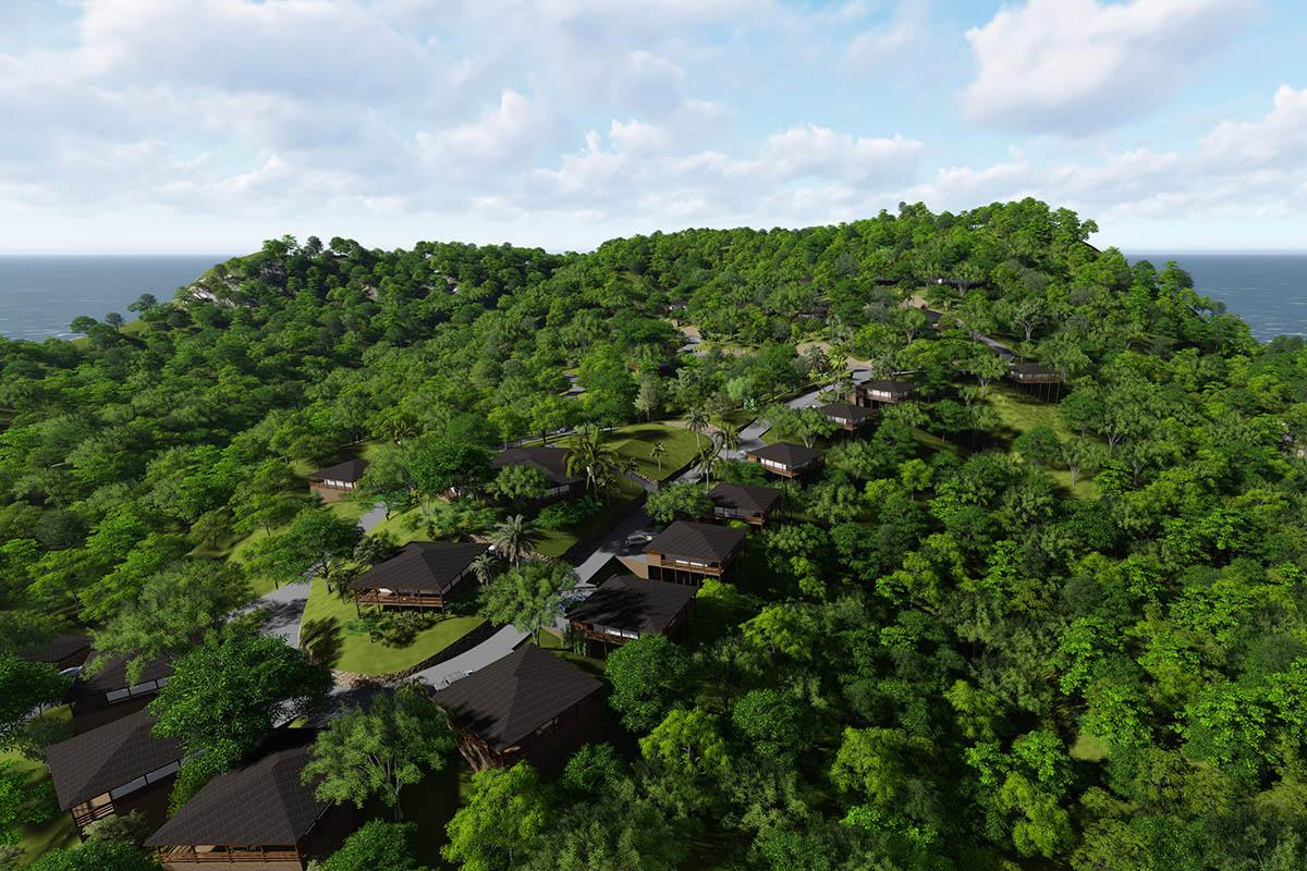 Vizualizace druhé části resortu Diamond Hill